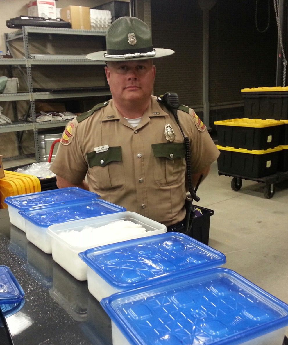 Trooper finds $500K worth of meth during Coffee County stop