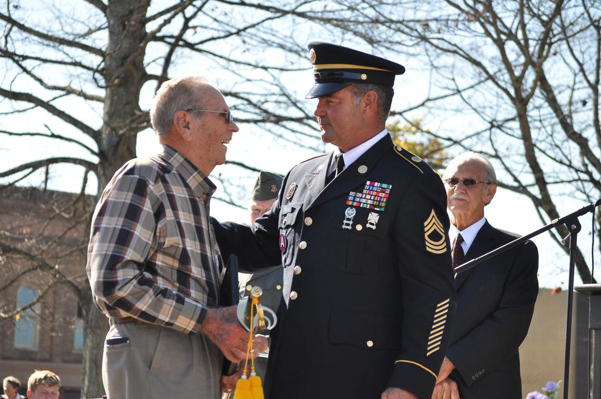 Hundreds show honor at Veterans Day Program