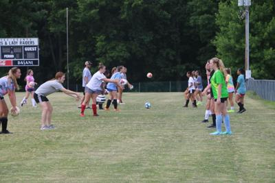 Girls Soccer tryouts finish without a hitch