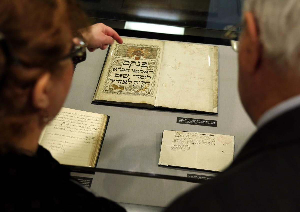 Papers believed to be lost in Holocaust go on display in US