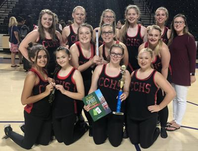 Raiderettes at competition