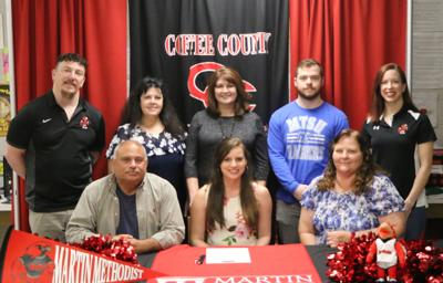 Lindsey Dickson signs to cheer at Martin Methodist | Local Sports