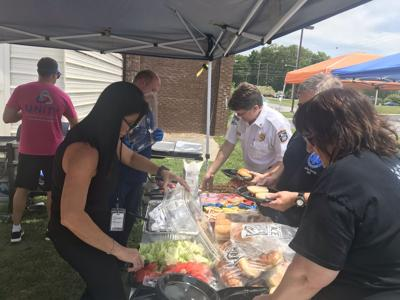 Unity Medical Center cookout