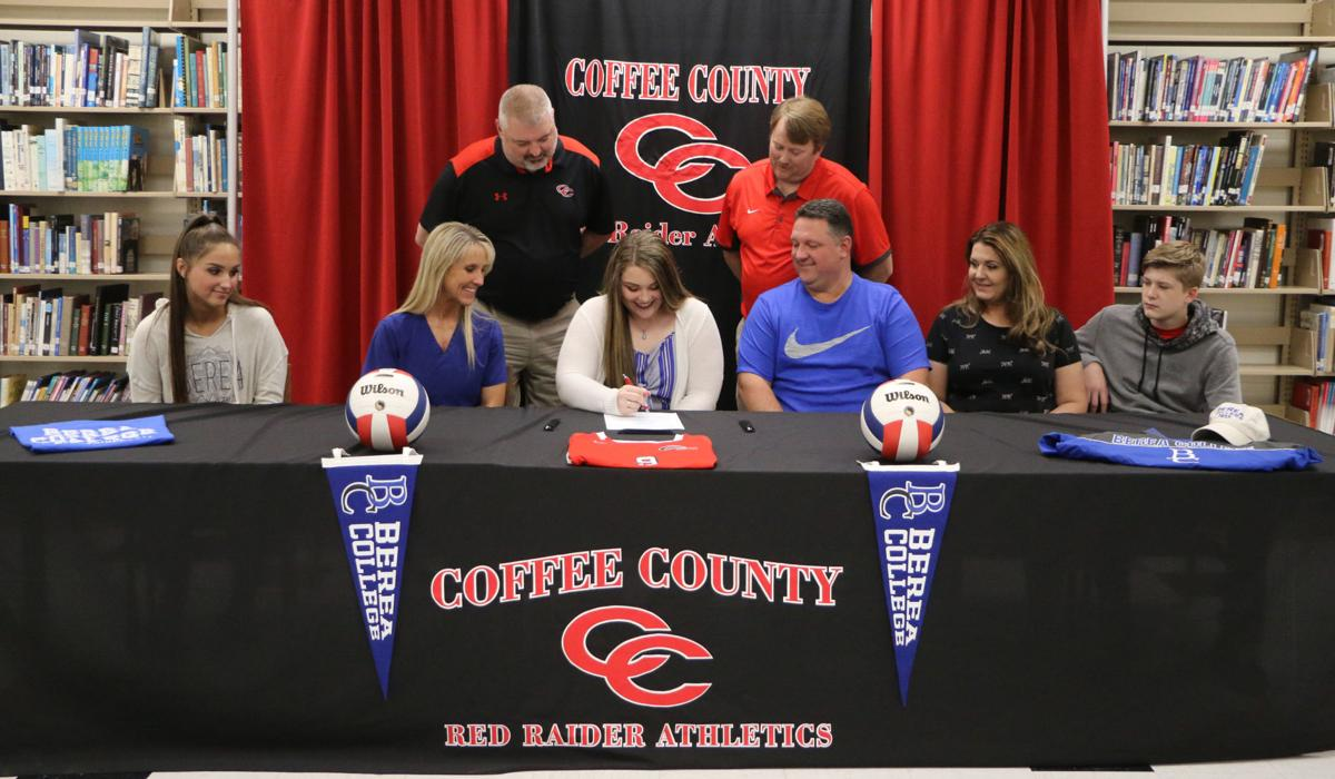 Abigail Layne signs with Berea