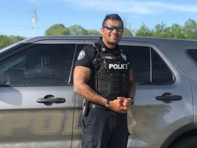 Captain Nilesh Patel enjoys serving the community