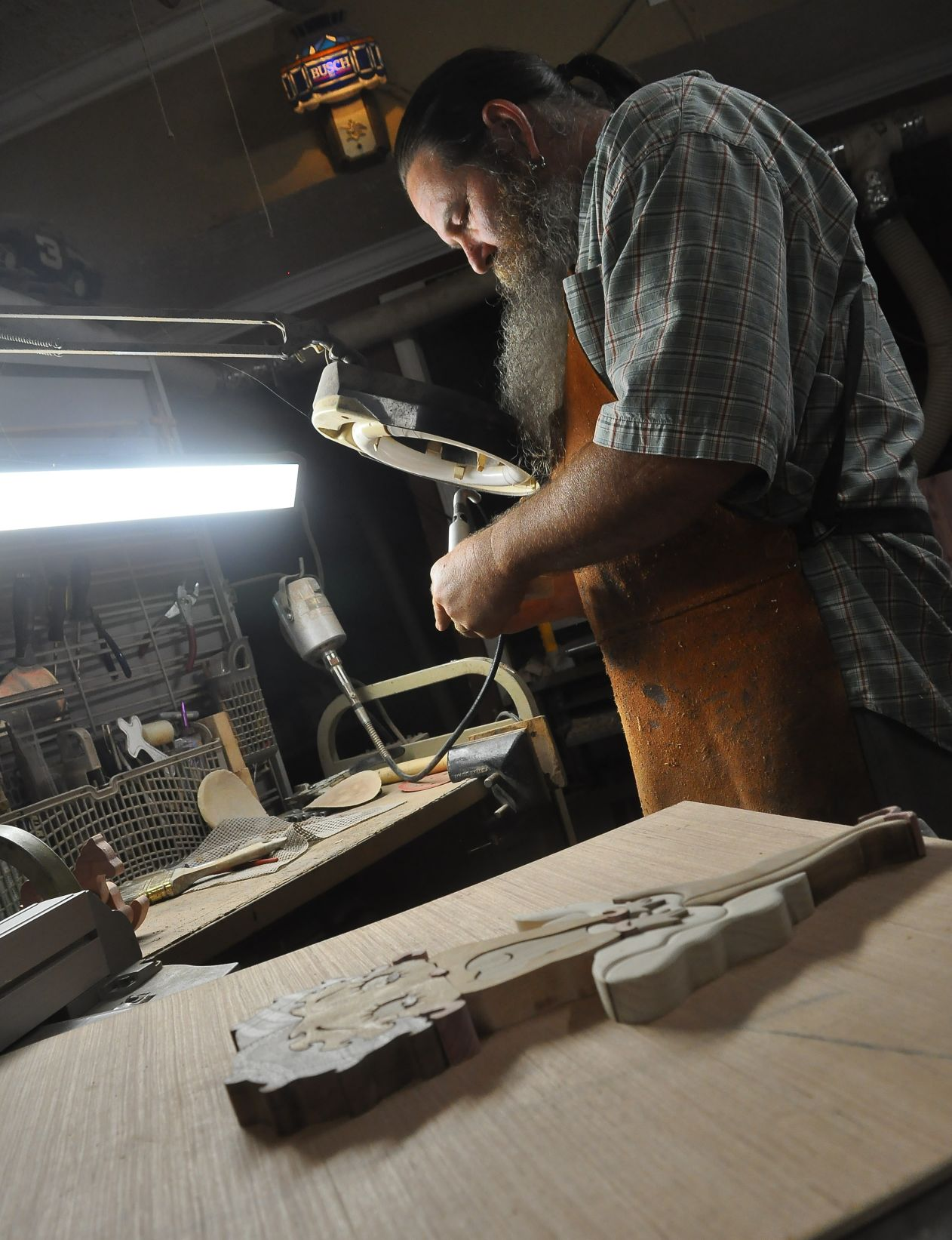 Working with the grain: Local woodworker gives an inside look at his craft