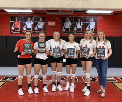 2019 seniors honored