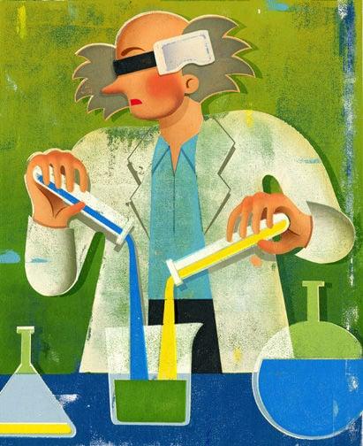 Blind science