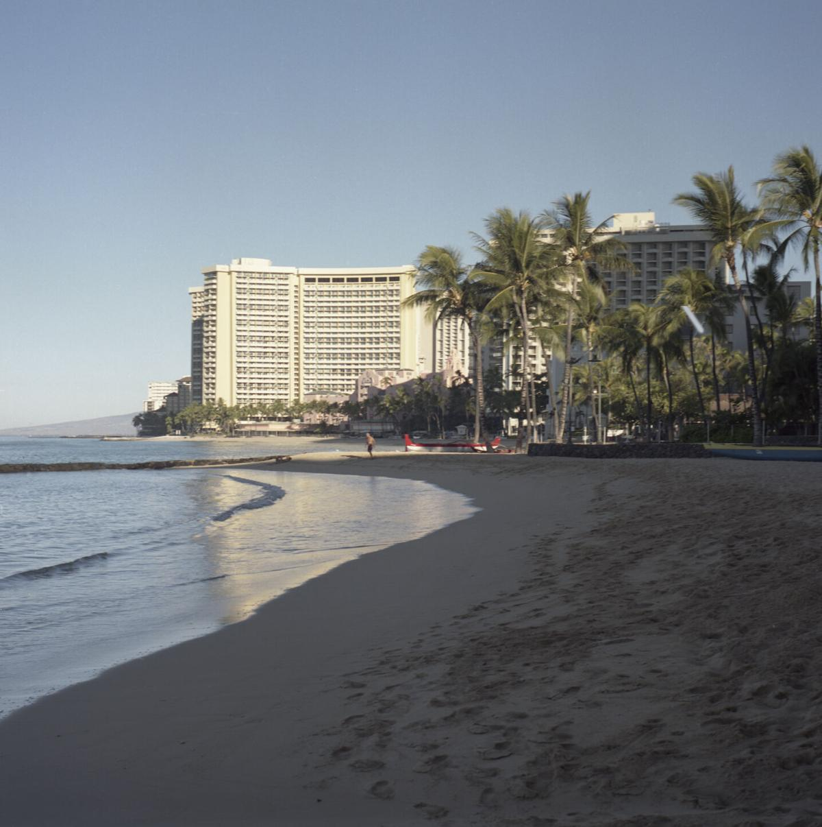 Empty Beach in Waikiki