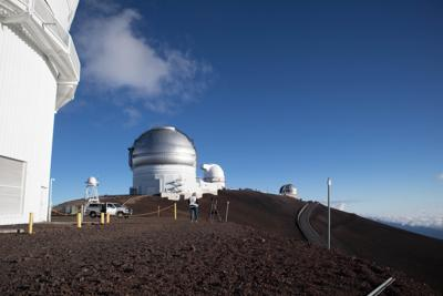 Maunakea telescopes