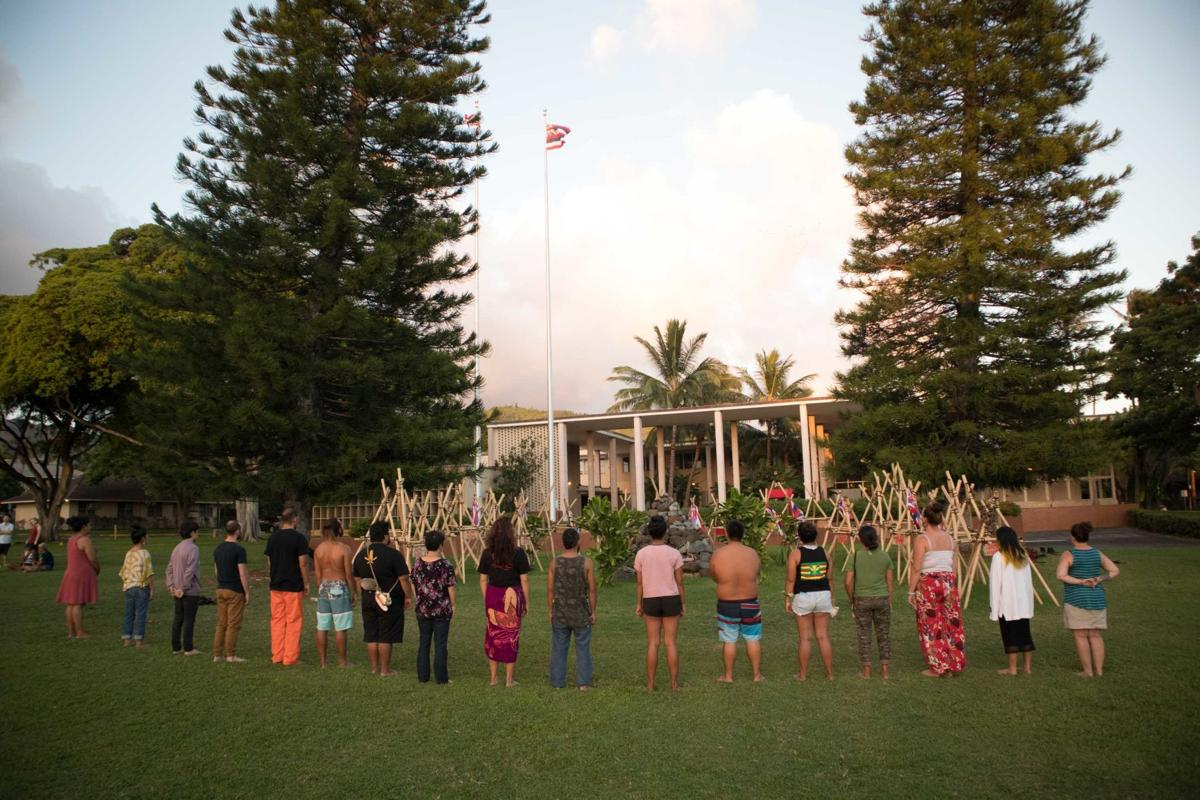 Maunakea Prayer at Bachman Hall