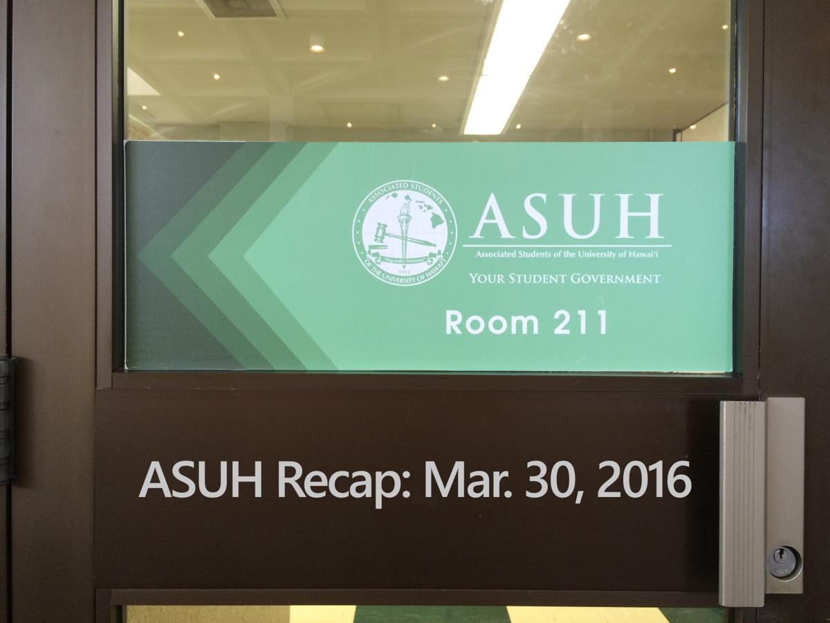 ASUH GS Mar. 30, 2016
