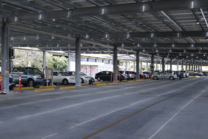 PV Project at Lower Campus Parking Structure