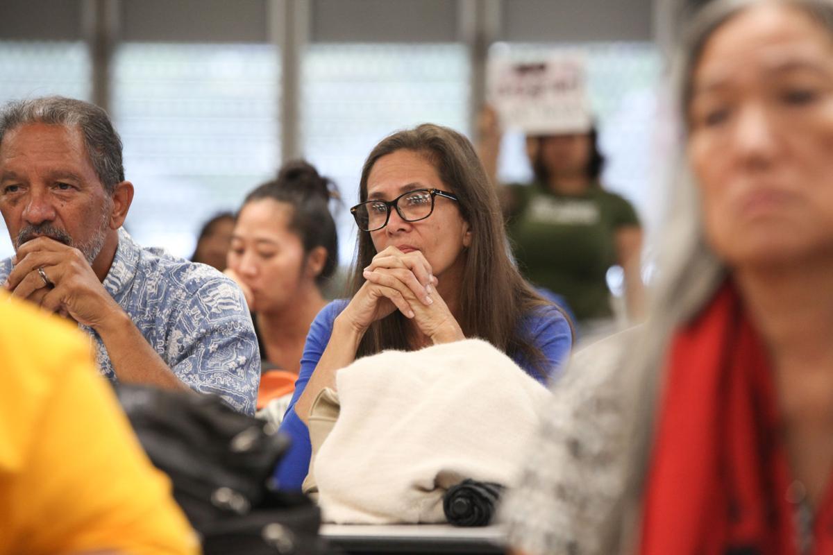 Manu Kaiama testifies against Maunakea administrative rules