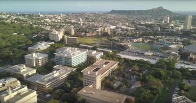 Drone Footage of Campus