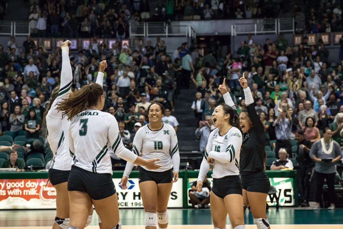 Uh Regains Momentum By Sweeping Coastal Carolina Sports Manoanow Org