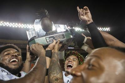 Hawaii Bowl Trophy