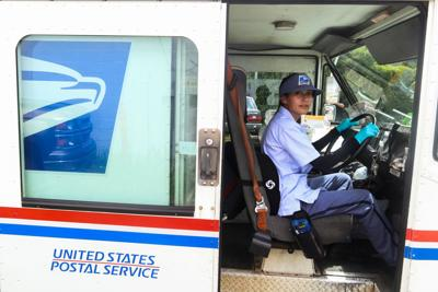 USPS mail carrier Reyna Yacapin
