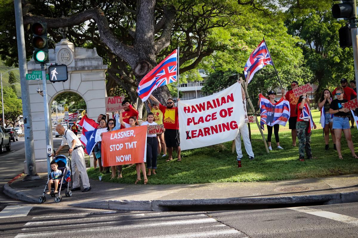 Maunakea Protests