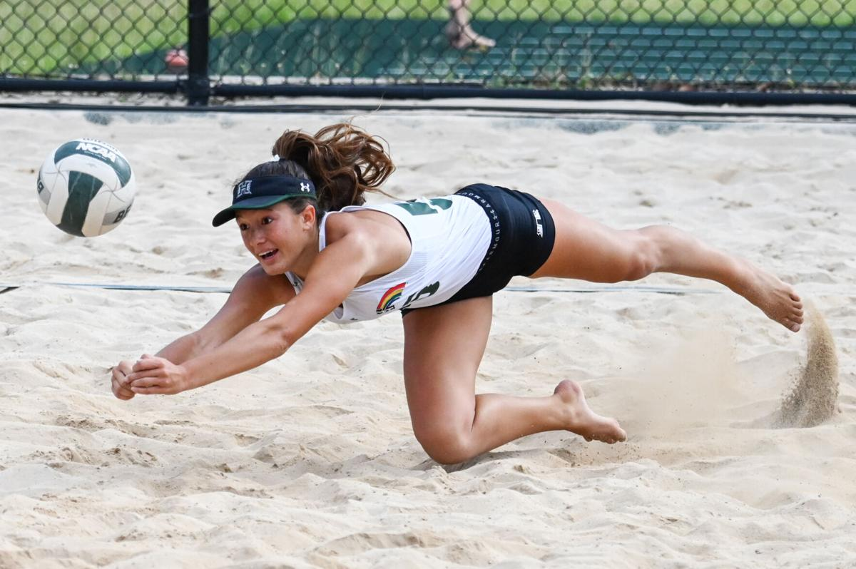 BeachBows lose overall series with Cal Poly, but do take final match on senior night