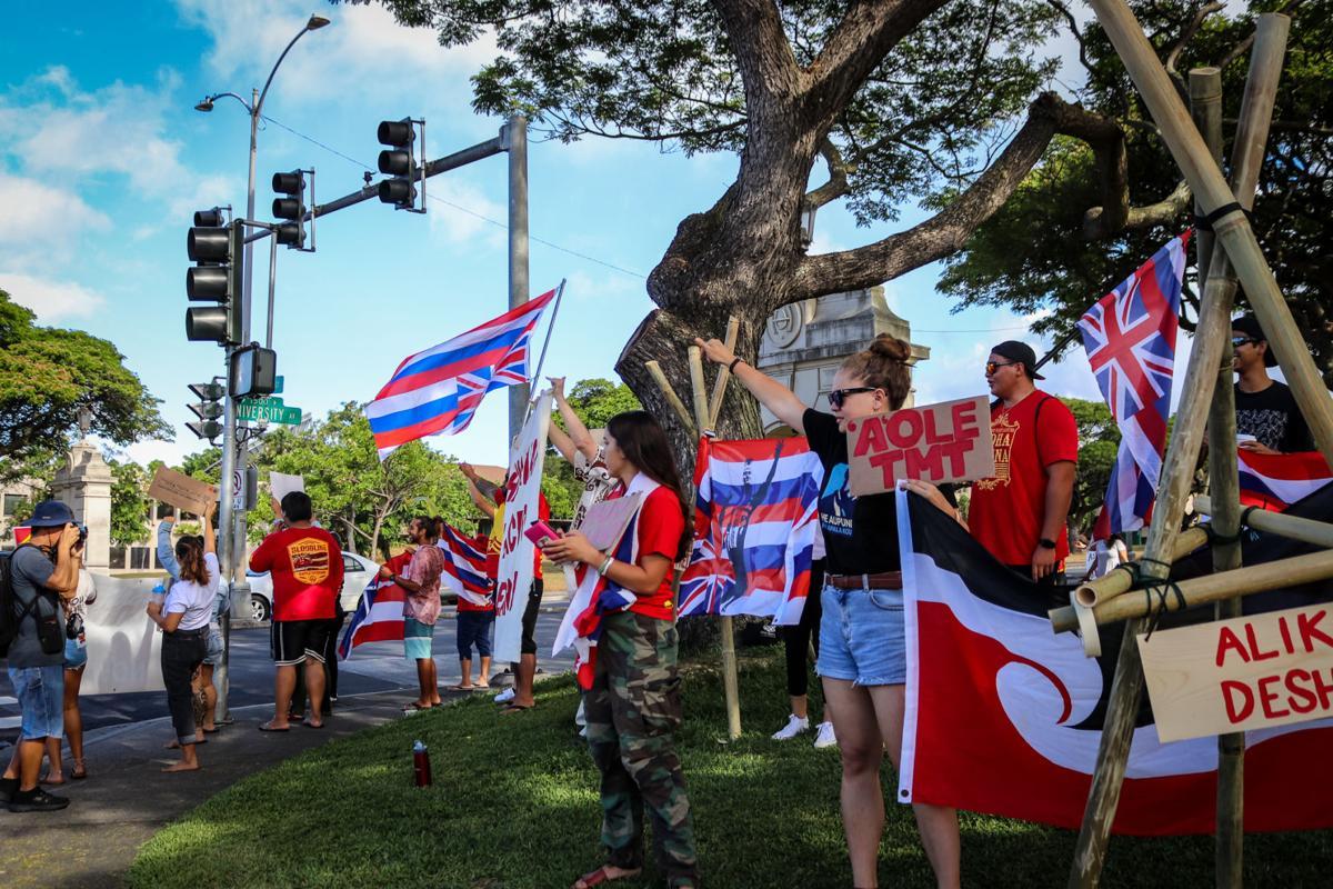 Maunakea protests at UH