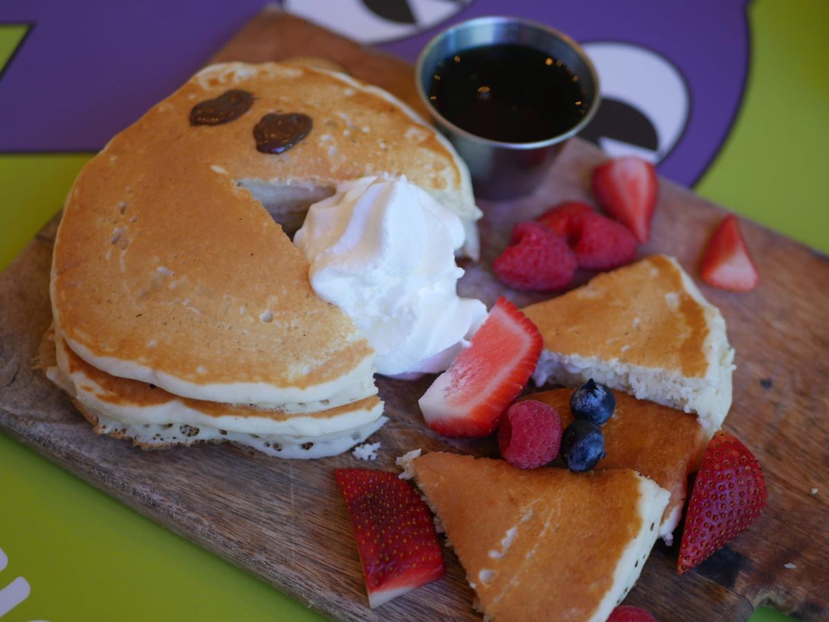 Pac-man pancake