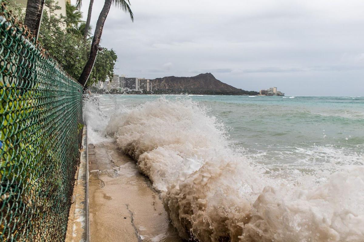 Hurricane Lane Waikiki