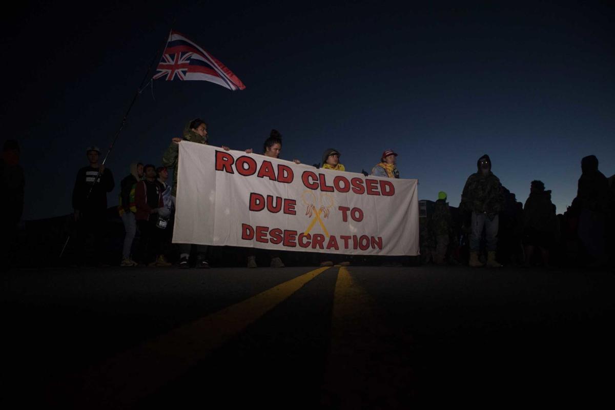TMT Protestors