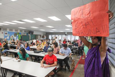 Maunakea public hearing on Oahu