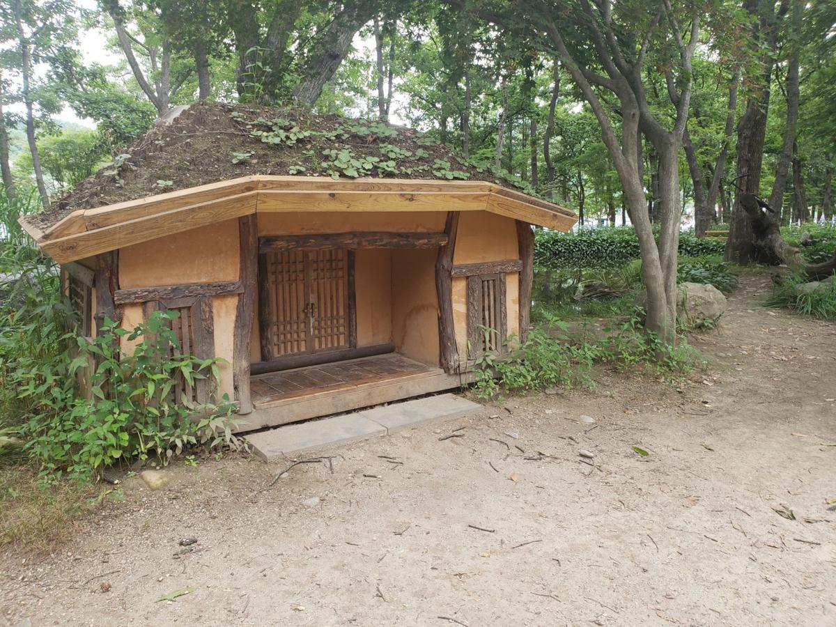 Nami island hut