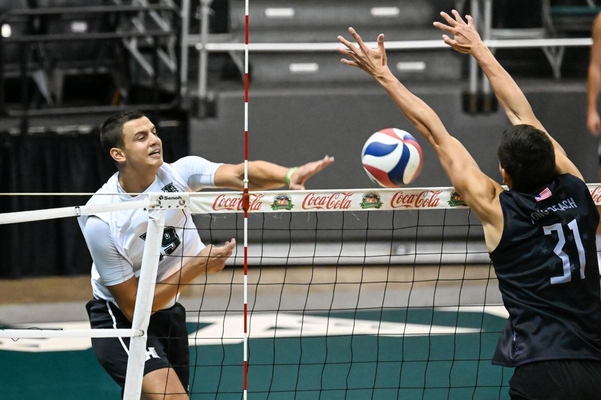 Rainbow Warriors silence the Beach: 3-1, 3-2