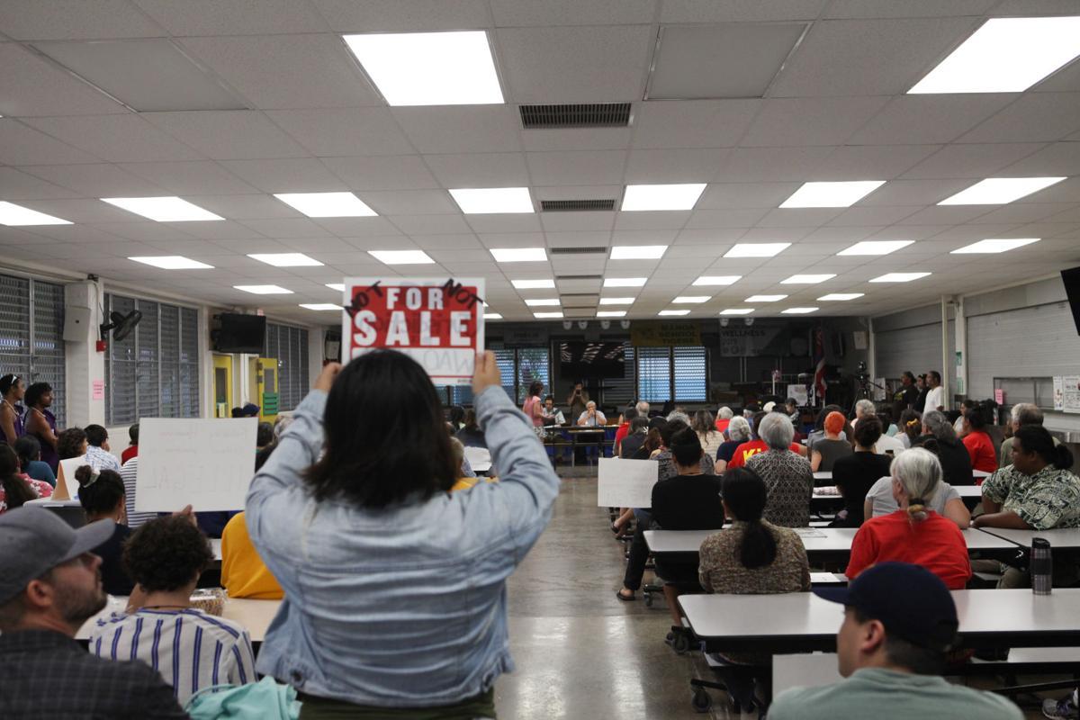 Public hearings on Maunakea administrative rules