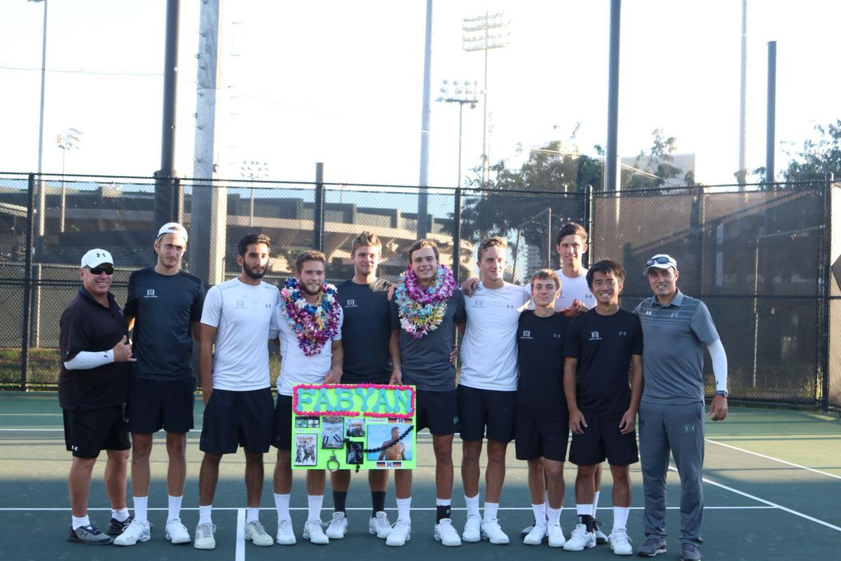Mens Tennis Senior Day 2018