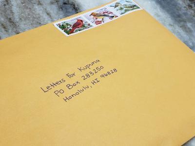 Letters for Kupuna - Photo