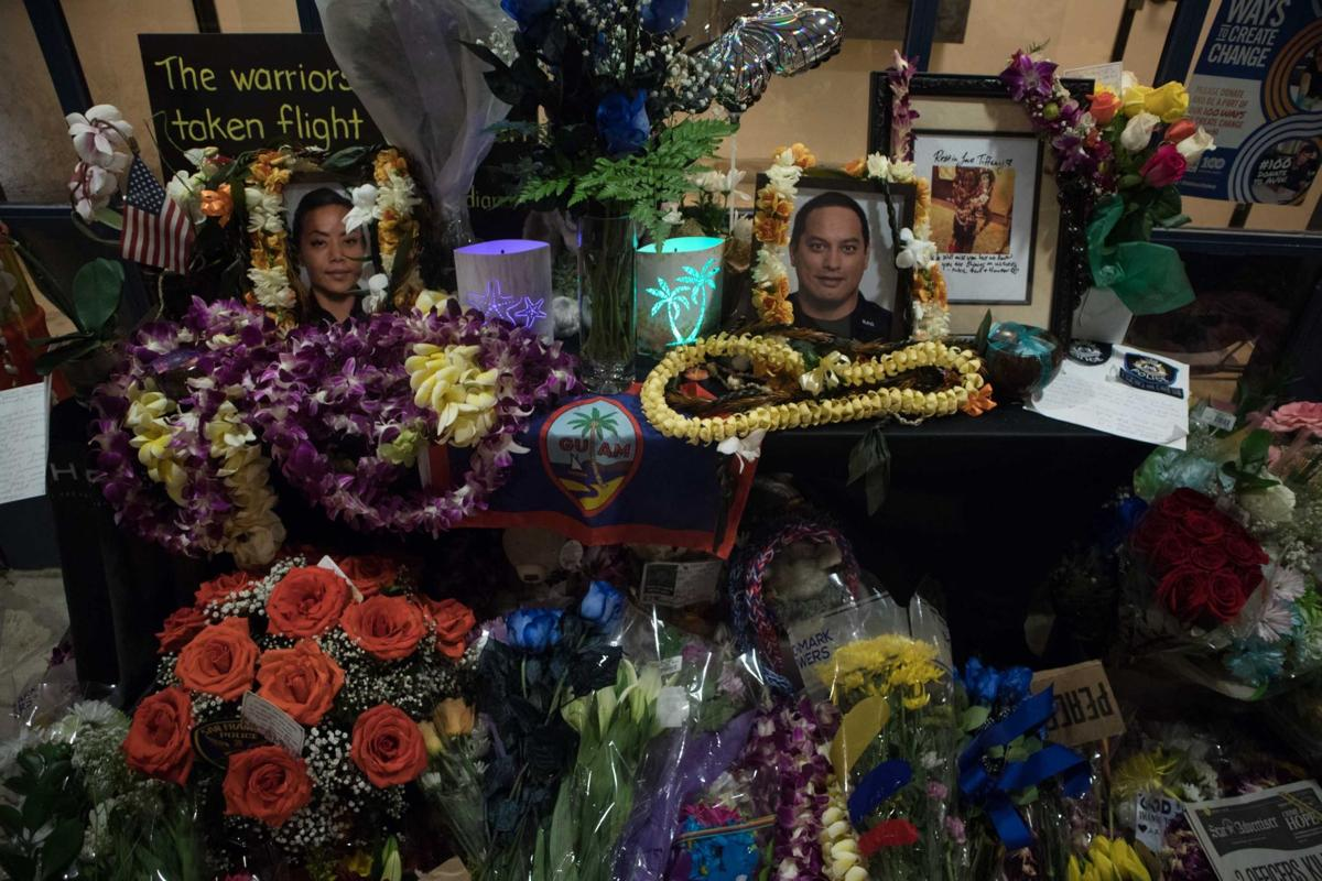 Memorial for officers in Diamond Head shooting tragedy