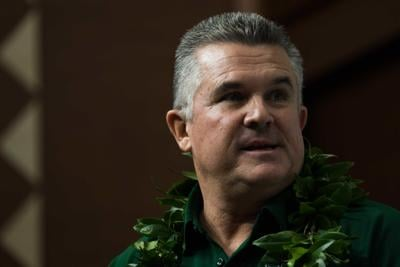 "New Rainbow Warrior football head coach Todd Graham is a ""player's coach"""