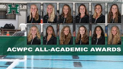 12 players water polo academic honors