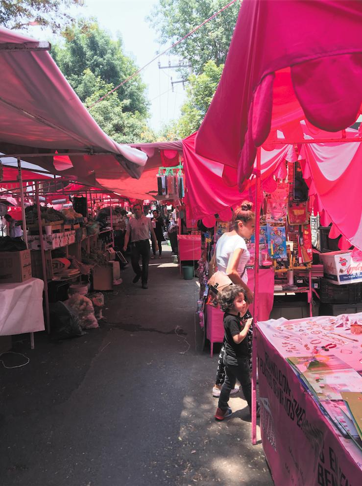 """""""Tianguis"""", Benito Juárez - Market"""