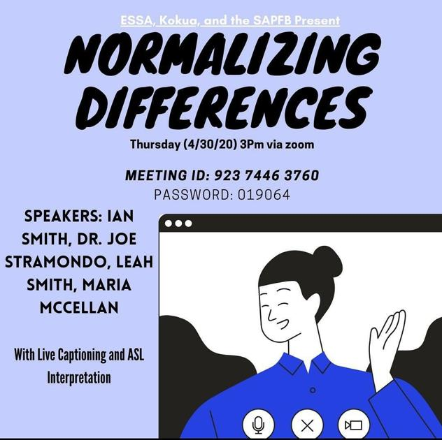 'Normalizing Differences' - Poster Courtesy of ESSA
