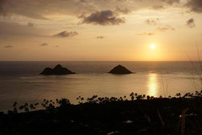Pillbox sunrise