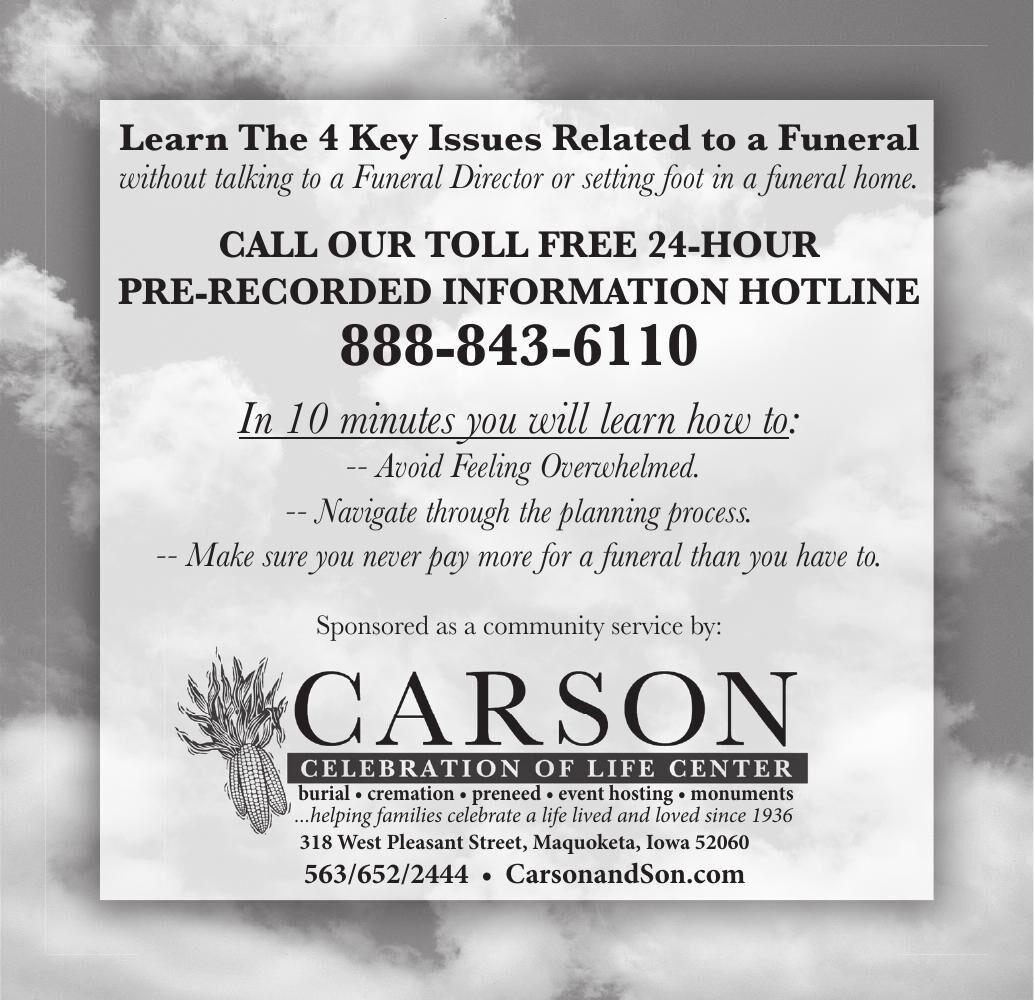 Carson -- 4 Key Issues