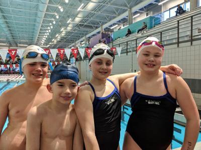 Maquoketa Marlins swimmers