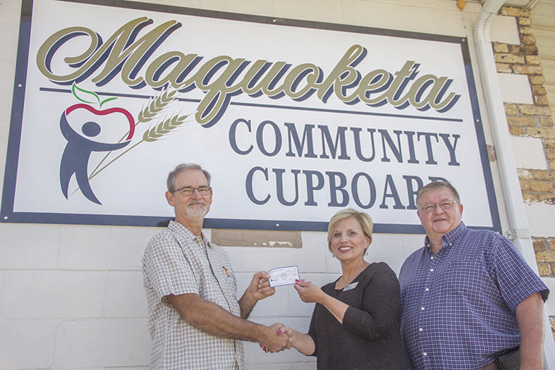 Realtor donation for Community Cupboard