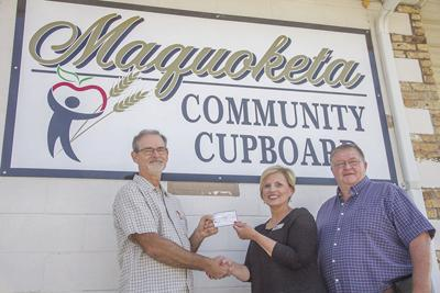 Realtor donation for Community Cupboard