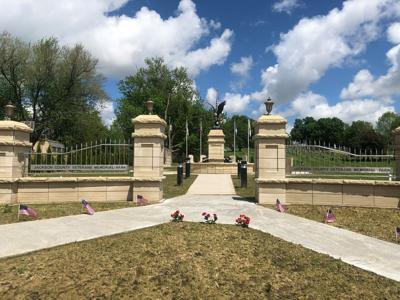 Vandals target veterans memorial | Local News | maqnews com