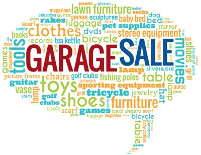 Citywide Garage Sale Balloon