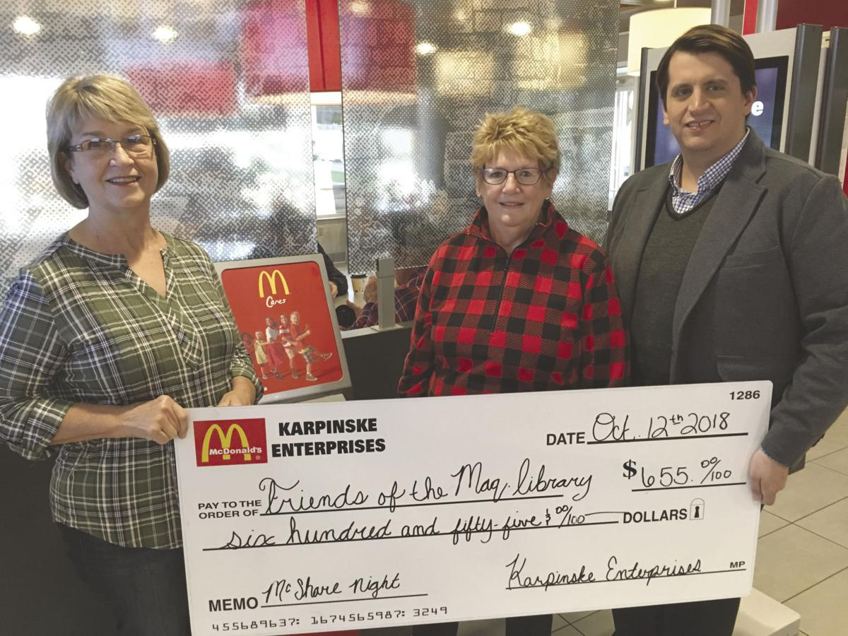 A $655 check from a McShare Night