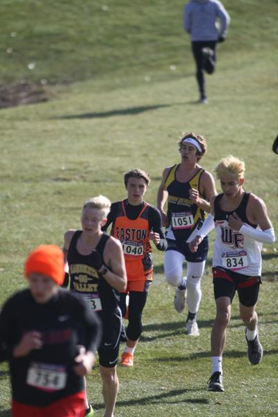 Easton Valley cross country runner
