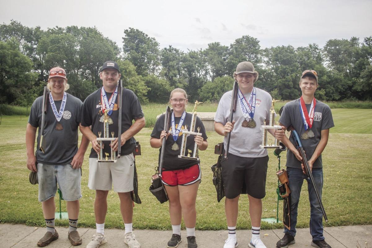 Members of the Maquoketa Trap Team