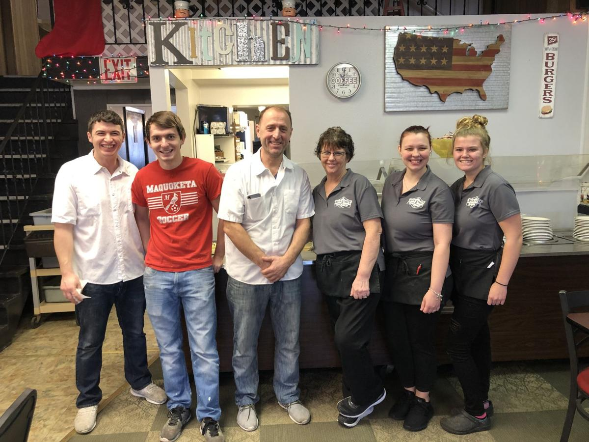 Main Street Cafe staff